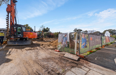 Construction for Henley on Park has commenced
